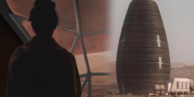 Mars'a yapılacak konutları NASA tanıttı...