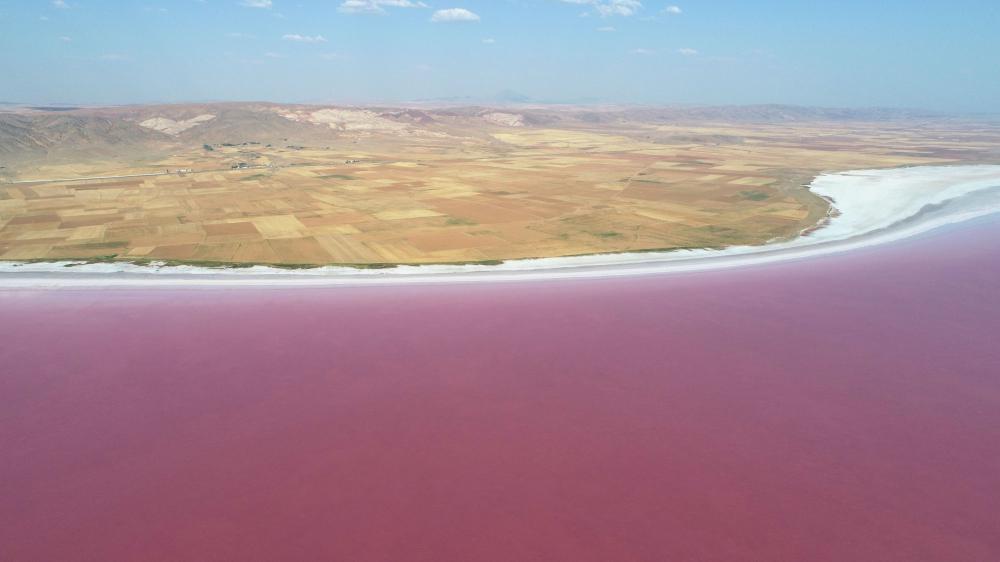 Tuz Gölü'nde kuraklık alarmı! 1 kilometrelik çekilme meydana geldi 5