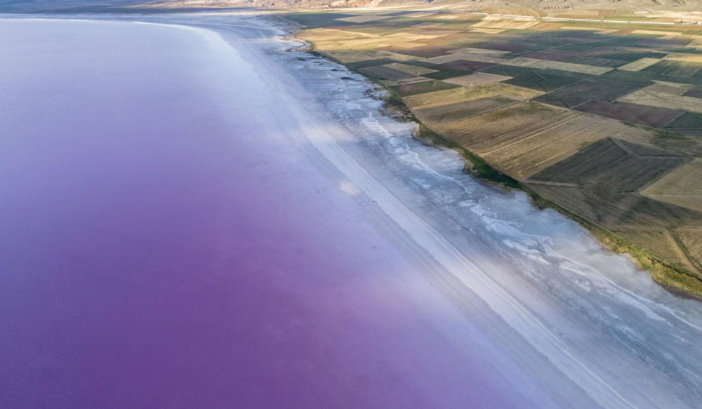 Tuz Gölü'nde kuraklık alarmı! 1 kilometrelik çekilme meydana geldi 8