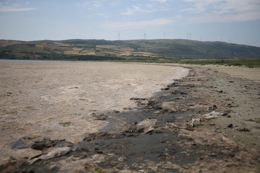 Marmara'da durum kötüleşiyor!  Müsilaj (deniz salyası) , Balıkesir Erdek'i esir aldı! 6