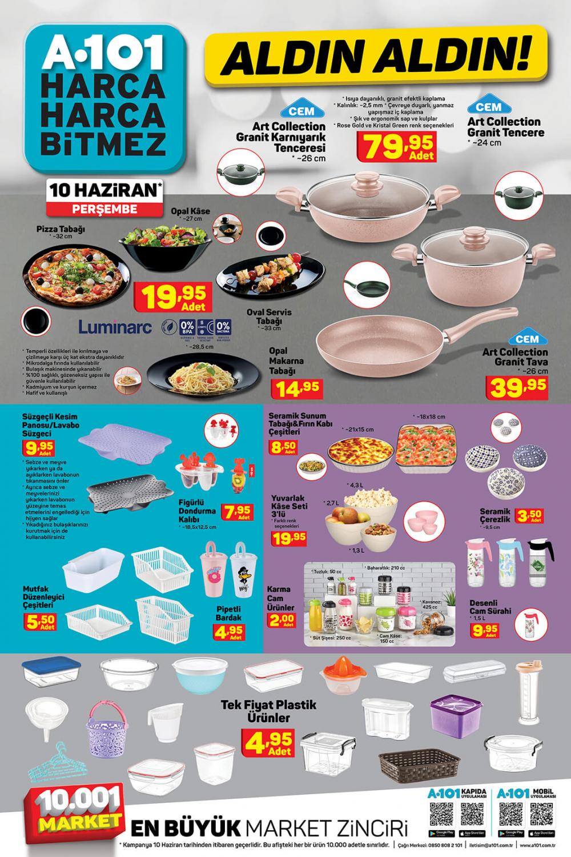 11 Haziran A101 aktüel ürünler kataloğu | Tatil ürünleri en uygun fiyatlarla A101'de! 10
