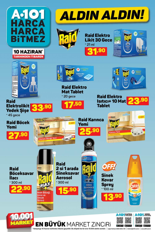 11 Haziran A101 aktüel ürünler kataloğu   Tatil ürünleri en uygun fiyatlarla A101'de! 2