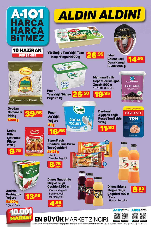 11 Haziran A101 aktüel ürünler kataloğu   Tatil ürünleri en uygun fiyatlarla A101'de! 8