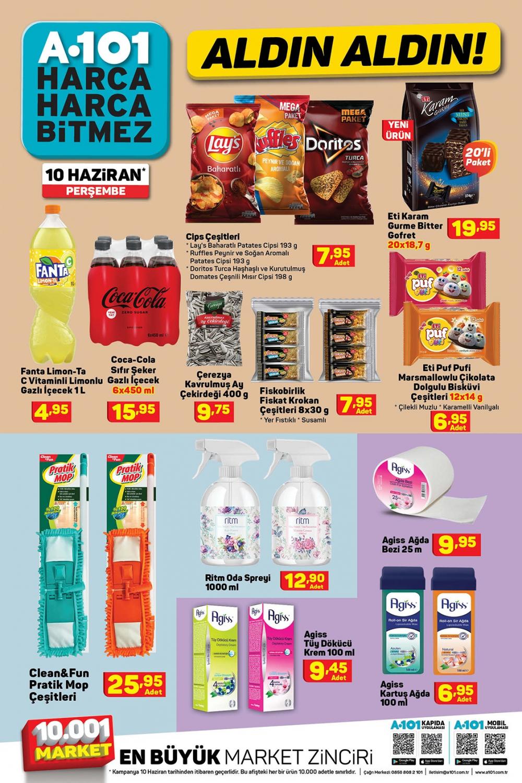 11 Haziran A101 aktüel ürünler kataloğu   Tatil ürünleri en uygun fiyatlarla A101'de! 9