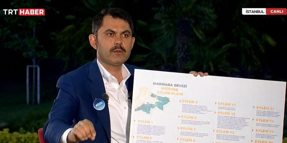 Marmara Denizi nasıl kurtarılacak? Bakan Kurum açıkladı! 9
