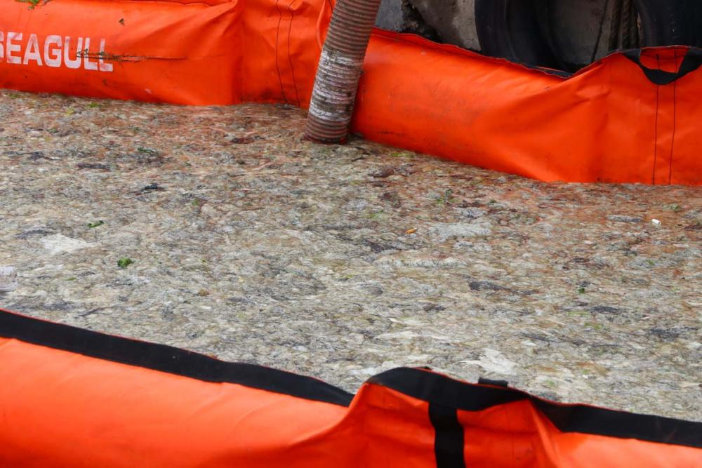 Tekirdağ kıyısı müsilajdan arındı, deniz göründü! Yüzey artık tertemiz.... 23