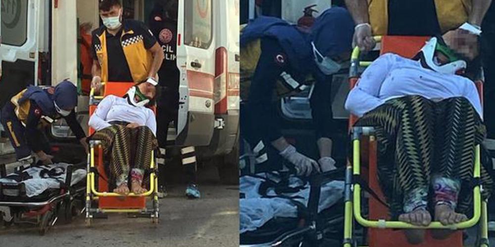 Komşular polise haber verdi! Eltisini sopayla döverek hastanelik etti 1