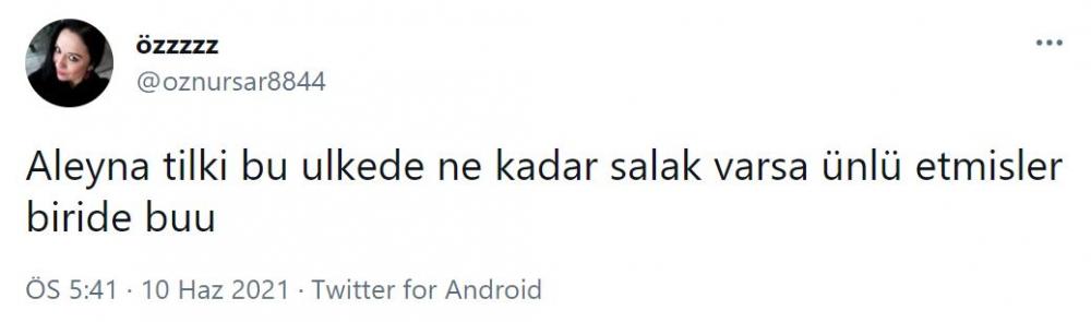'Sevgilim biraz keko olabilir' demişti! Aleyna Tilki sosyal medyada alay konusu oldu 12