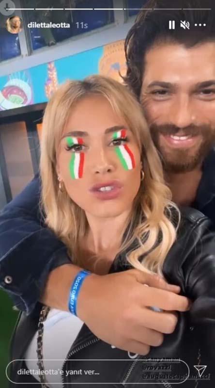 Diletta Leotta'dan Can Yaman'ı kızdıracak paylaşım! Maç sonunda yayınladı 4