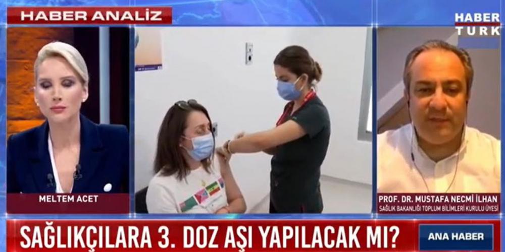 Üçüncü doz aşı gerekli mi? Bilim Kurulu üyesi Prof. Dr. Mustafa Necmi İlhan açıkladı 1