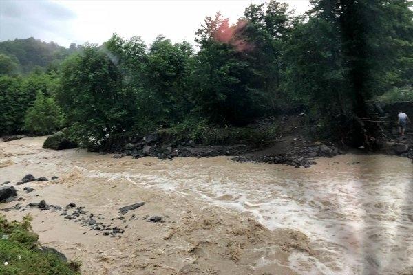 Ordu'da yaşanan sel felaketinin görüntüleri 1