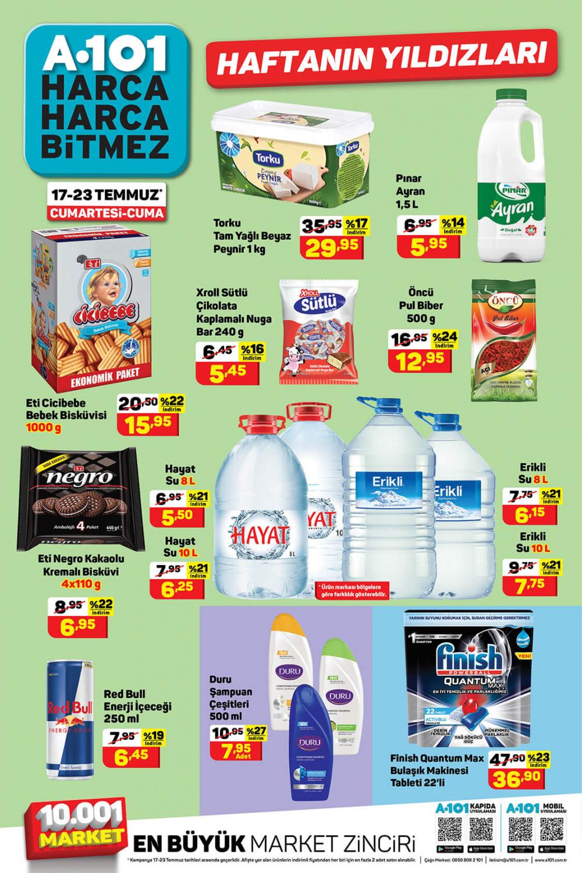 A101 haftanın yıldızları 22 Temmuz |22 Temmuz A101 aktüel ürünler kataloğu 1