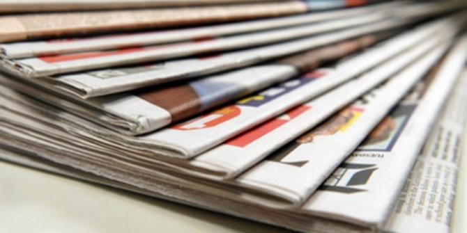 1 Ekim 2018 Pazartesi gazete manşetleri
