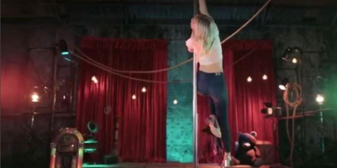 Aleyna Tilki bu kez direk dansıyla gündemde