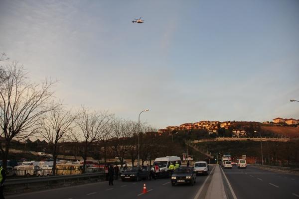 Pendik Aydos'ta Helikopter destekli Huzur Operasyonu! 17