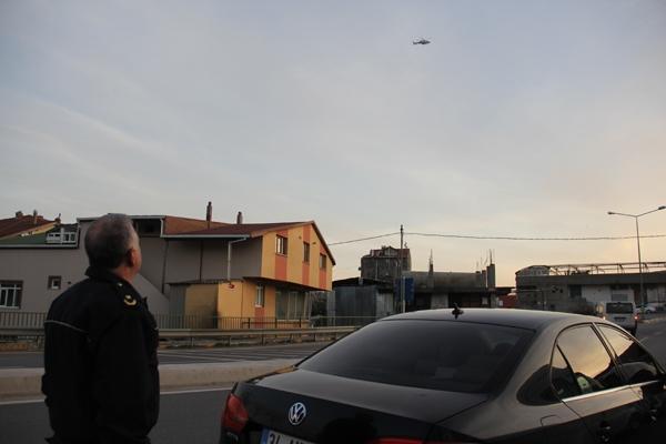 Pendik Aydos'ta Helikopter destekli Huzur Operasyonu! 20