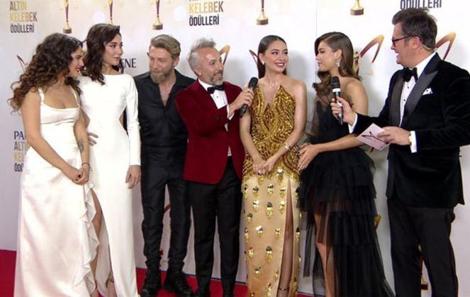Pantene Altın Kelebek Ödülleri'nde kim ne giydi? Şıklık yarışı 1