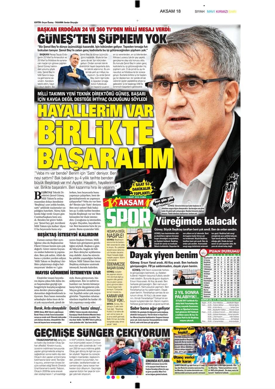 Günün Spor Manşetleri (08.03.2019) 1