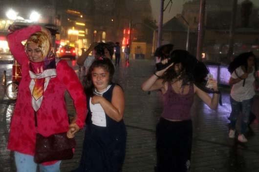 İstanbul'da 20 dakikalık kabus! 15