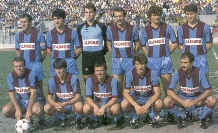 Trabzonspor'un Geçmişten Günümüze Takım Kadroları 18