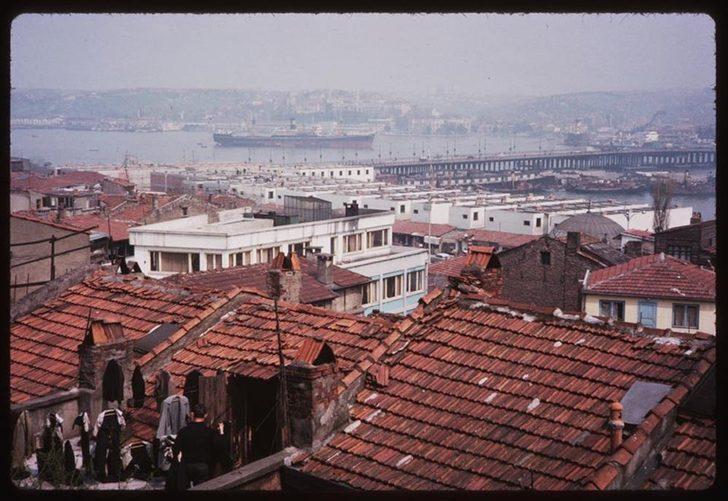 1969 yılında İstanbul nasıldı? İşte eski İstanbul sokakları... 1