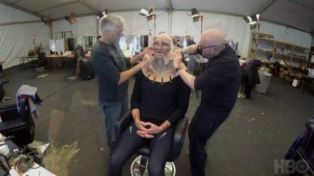 Game of Thrones'un 7.sezonuna ait kamera arkası görüntüleri 12