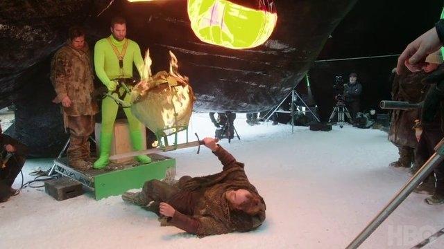 Game of Thrones'un 7.sezonuna ait kamera arkası görüntüleri 17