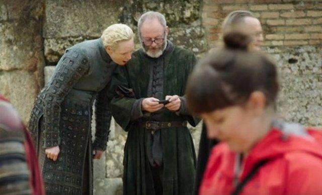 Game of Thrones'un 7.sezonuna ait kamera arkası görüntüleri 19