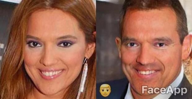 Kadın ünlüler erkek olsalardı nasıl olurdu? | Cinsiyet değiştiren uygulama 1