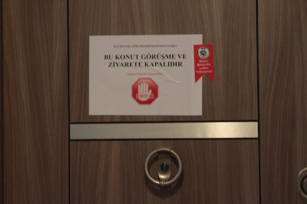 Balıkesir'de Pozitif vakaların bulunduğu evler mühürlendi!