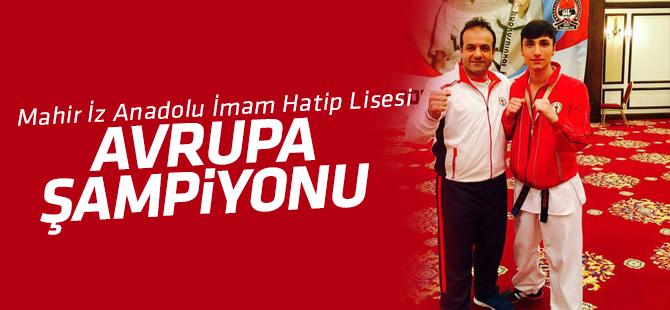 Mahir İz Anadolu İmam Hatip Lisesi Avrupa Şampiyonu