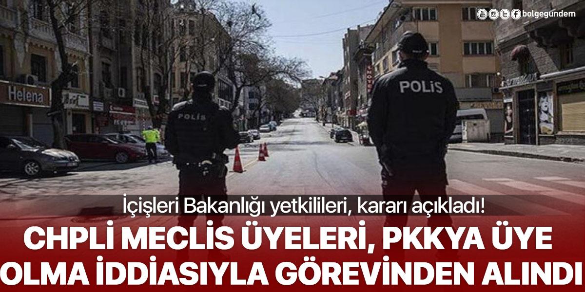 İçişleri Bakanlığı, CHPli iki belediye meclis üyesi Adnan Erol ve Hurşit Besle'yi görevinden aldı!