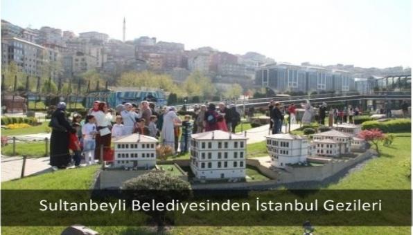 Sultanbeyli Belediyesinden İstanbul Gezileri