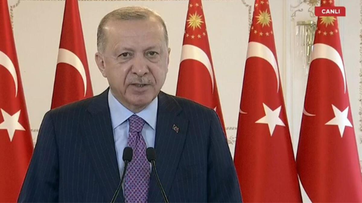 Cumhurbaşkanı Erdoğan Manisa Enerji ve Tabii Kaynaklar Projeleri Toplu Açılış Töreni'nde