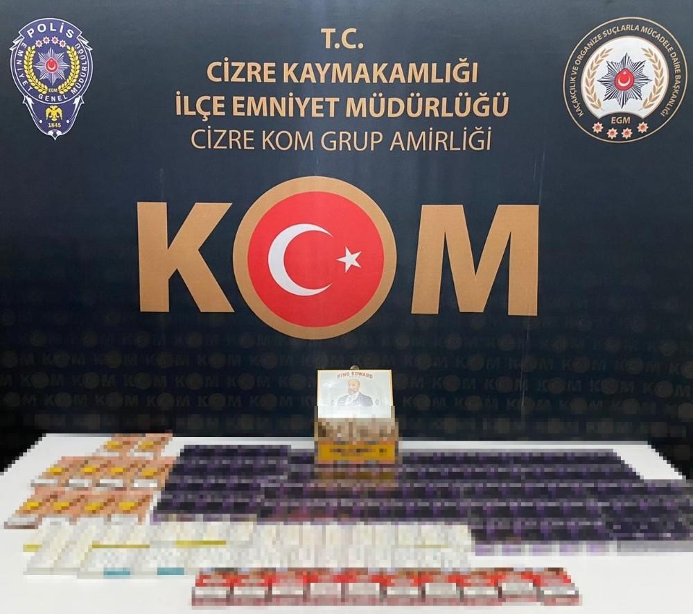 Şırnak'ta uyuşturucu oparasyonu: 44 gözaltı