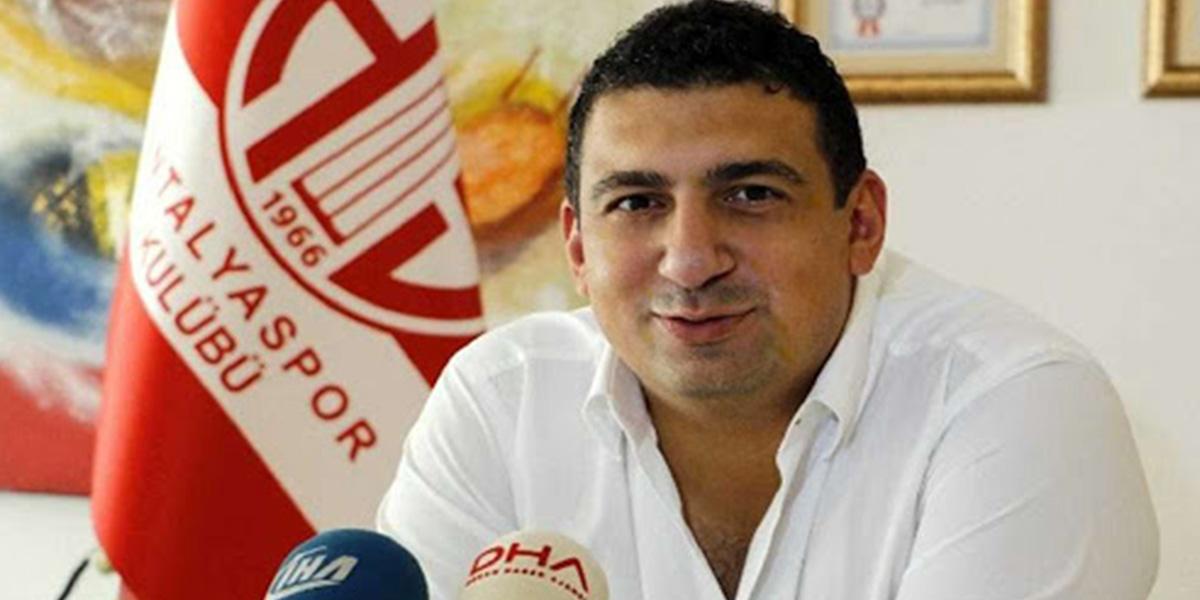Son dakika |Antalyaspor'da büyük şok: Başkan Ali Şafak Öztürk görevinden istifa etti