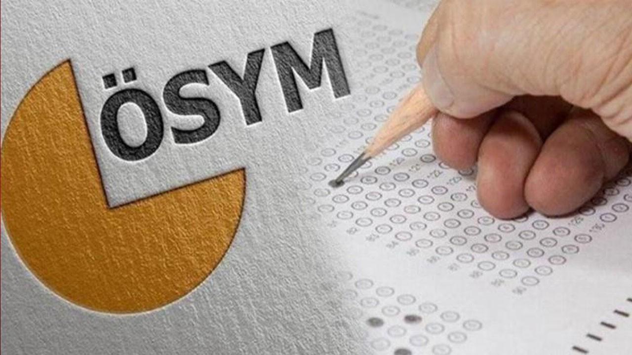 Ertelenen ÖSYM sınavları için sınav yeri güncellemesi