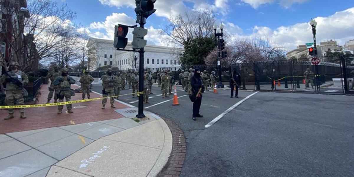 Son dakika haberi... Joe Biden'ın yemin töreni öncesinde Yüksek Mahkeme'de bomba alarmı!