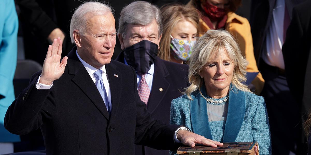 Joe Biden yeminini ederek ABD'nin 46. Başkanı oldu