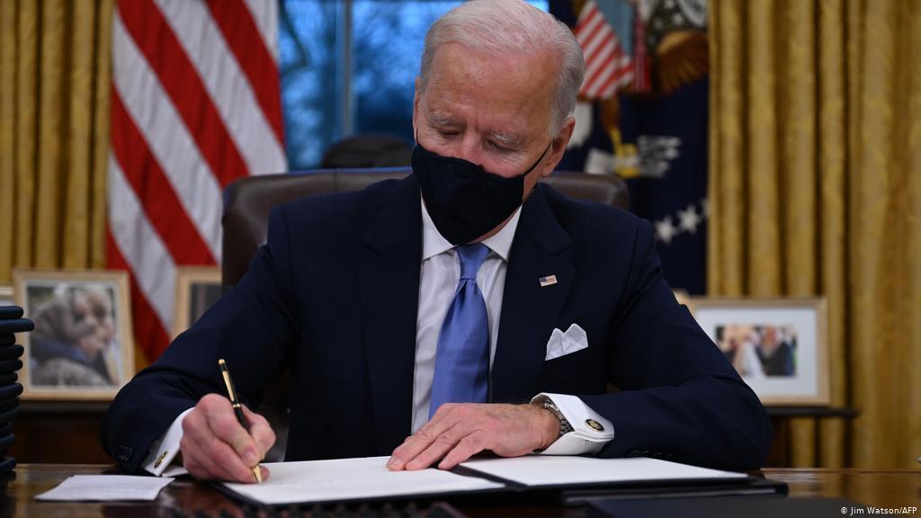 Göreve başlayan ABD Başkanı Biden gizli bir mesaj yayınlandı