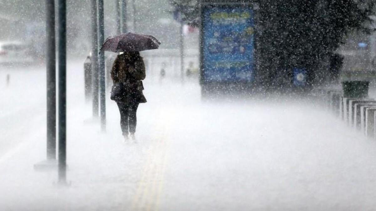 Meteoroloji'den sağanak yağış ve kuvvetli rüzgar uyarısı!