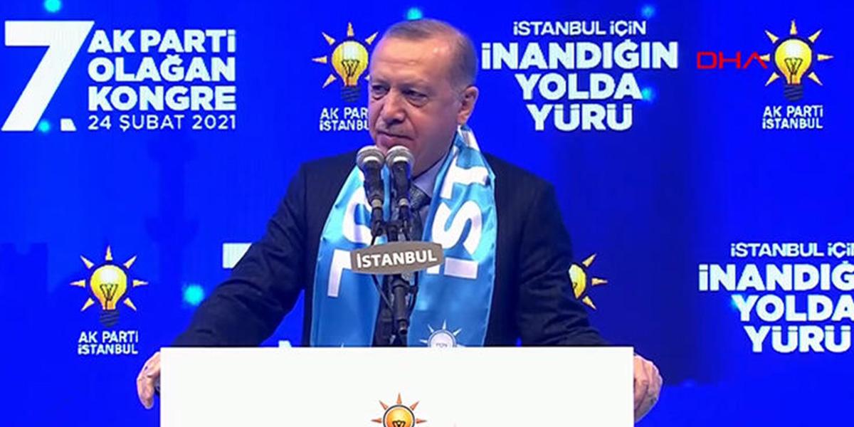 Erdoğan'dan flaş açıklama: Kanal İstanbul'u yapacağız, buna alışacaklar!
