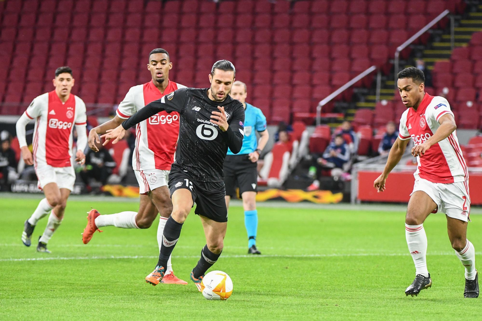 Ajax 2-1 Lille |Yusuf Yazıcı attı ama yetmedi