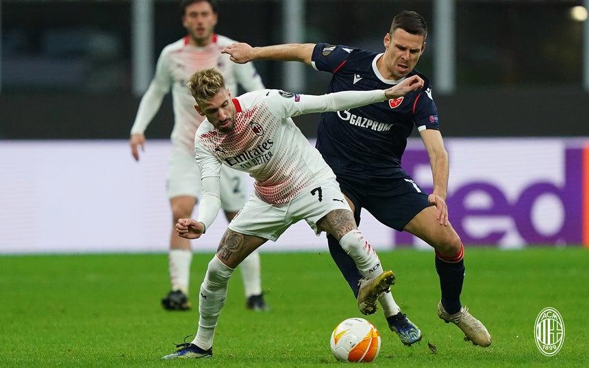 Milan 1-1 Kızılyıldız |Maç sonucu