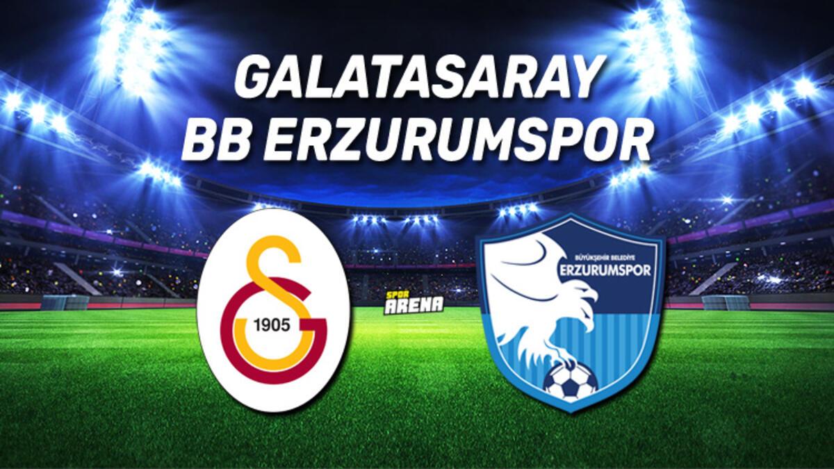 Galatasaray 2-0 BB Erzurumspor maç sonucu | Maç özeti