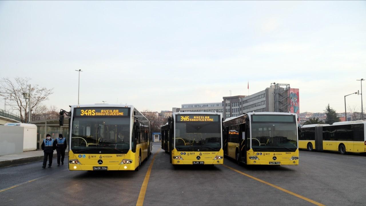 İstanbul'da toplu taşımada uygulanan yaş kısıtlaması kalktı
