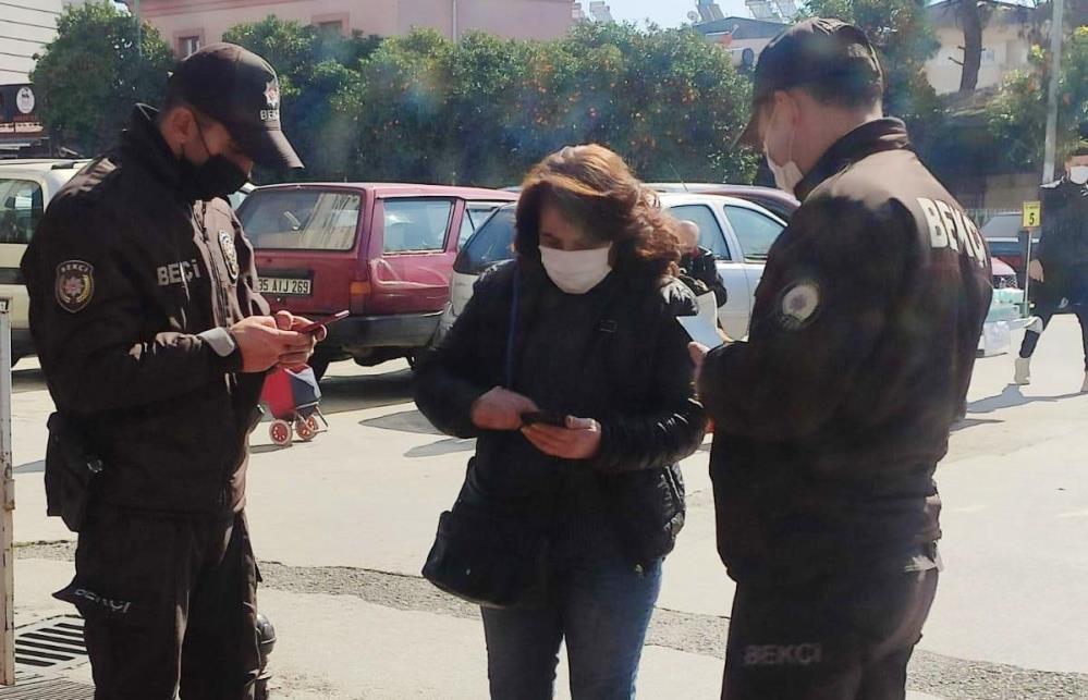 Riskli iller kapsamında yer alan Aydın'da dinamik Korona virüs denetimi! Ceza yağdı!