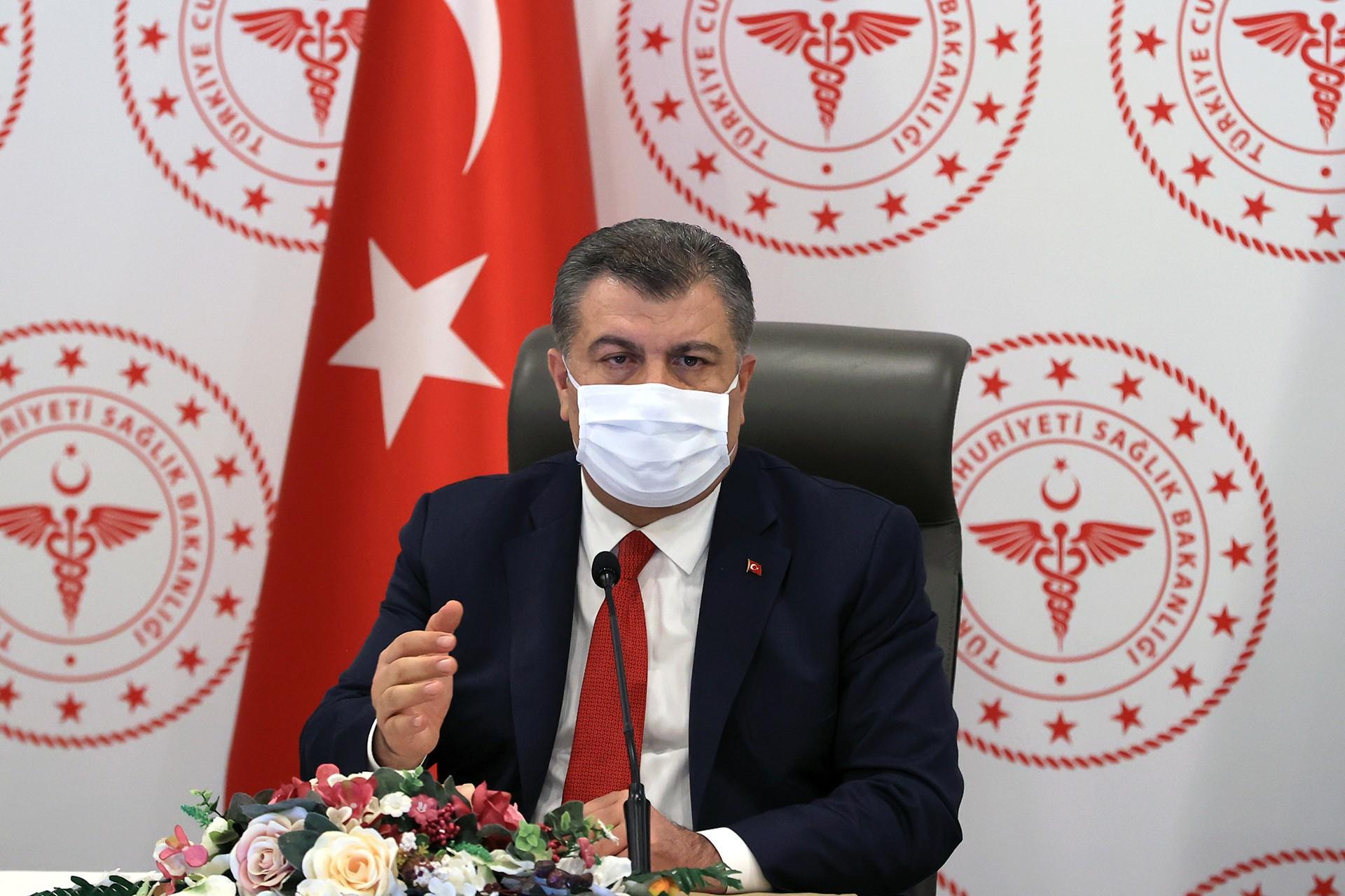Sağlık Bakanı Fahrettin Koca'dan Gökhan Özoğuz'a yanıt!
