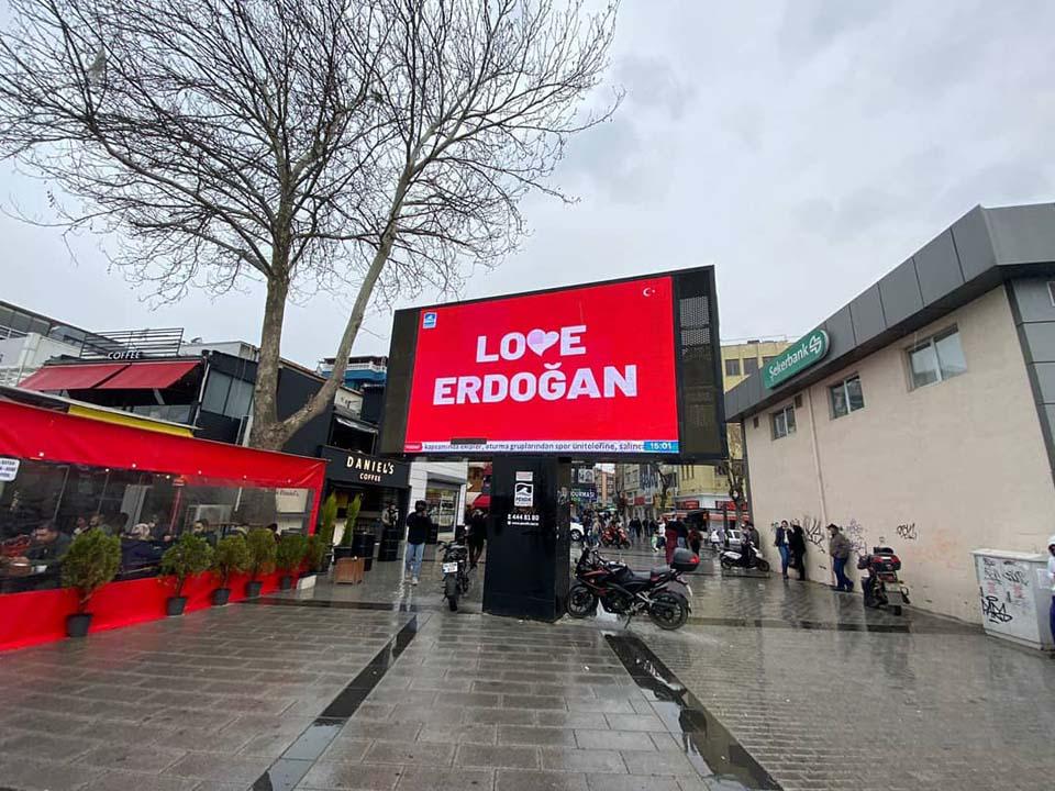 """Pendik Belediye Başkanı Ahmet Cin'den """"Love Erdoğan"""" paylaşımı!"""