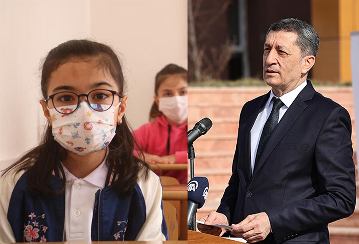 Milli Eğitim Bakanı Ziya Selçuk'tan bir haftanın yüz yüze eğitim raporu